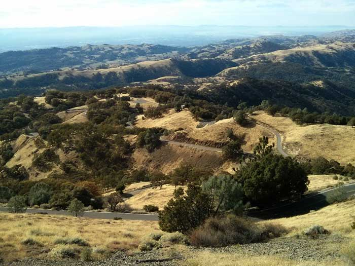 View from Mount Hamilton