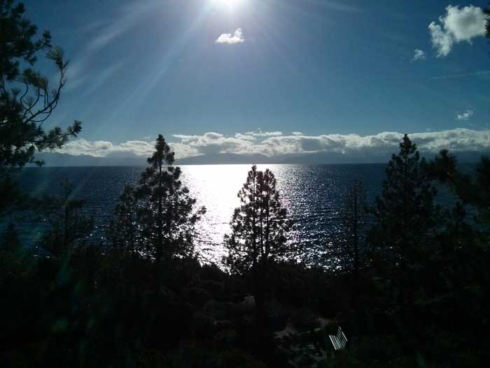 Memorial Point on Lake Tahoe