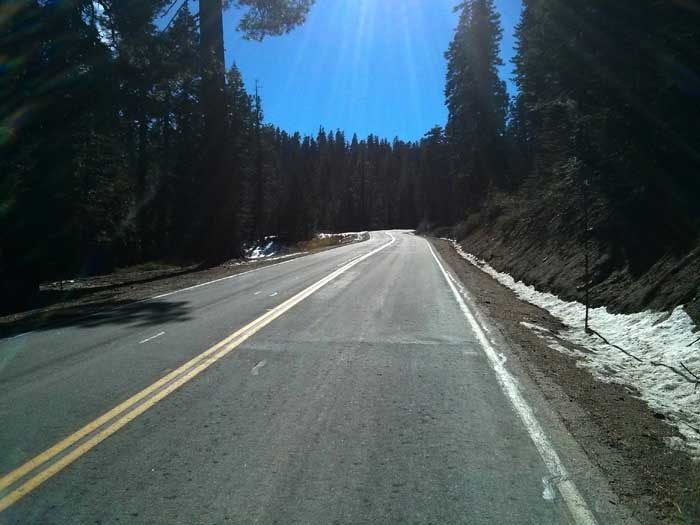 Up towards the Yuba Pass