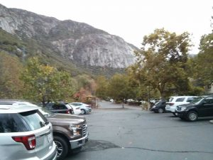 Yosemite View Lodge car park