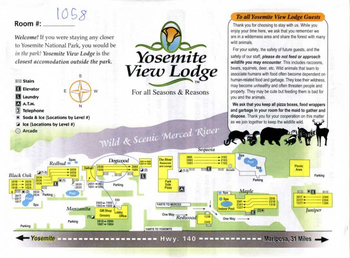 Yosemite View Lodge info
