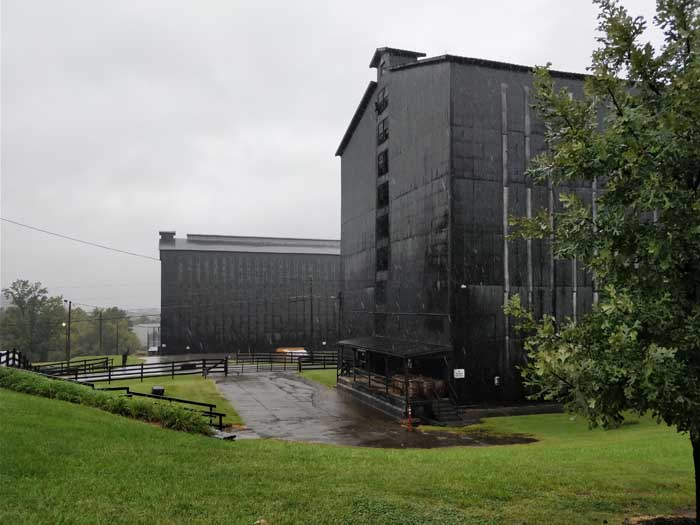 Barrel warehouses