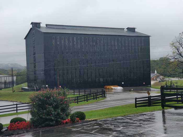 Barrel warehouse