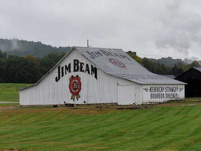 Entrance to the Jim Beam Stillhouse