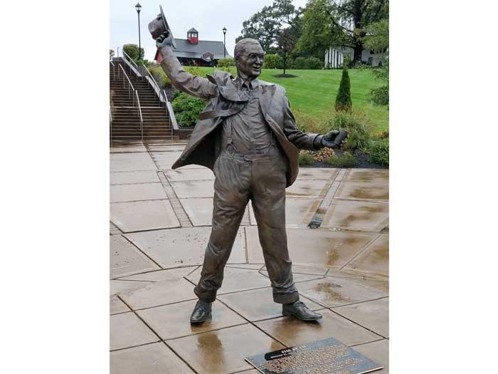 Statue of Jim Beam