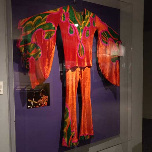 Jimi Hendrix outfit worn at the 1970 Isle of Wight Festival