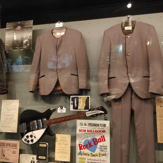 Original Beatles suits