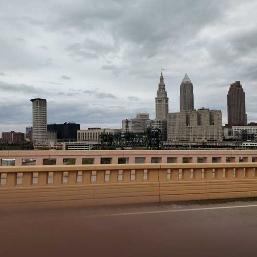 Views around Cleveland