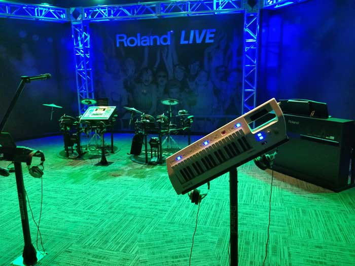 The Roland Live area