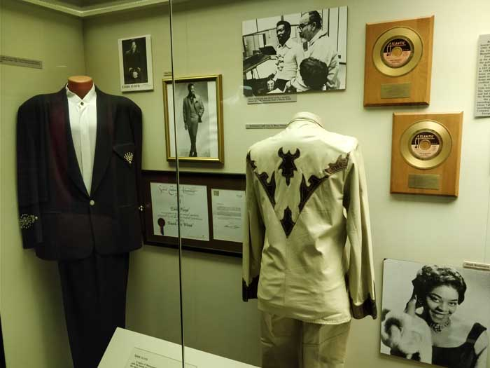 Eddie Floyd & Wilson Picket inside Alabama Music Hall of Fame