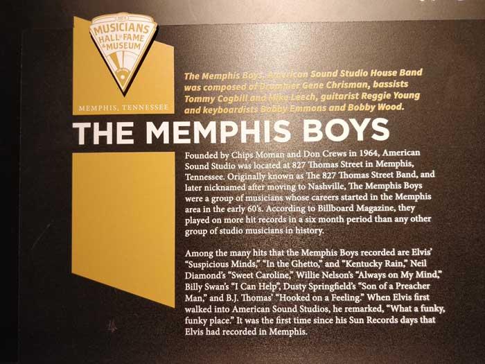 Inside Musicians Hall of Fame