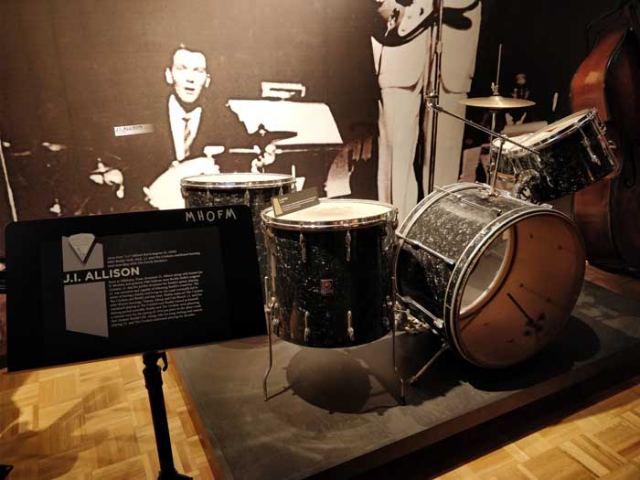 Jerry Allison drum kit