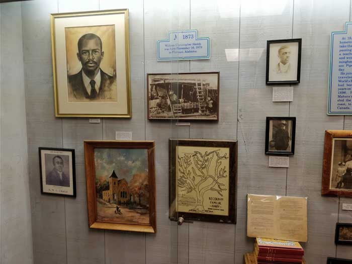 Inside WC Handy Museum