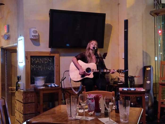 Mandy McMillan at Jimmy Buffet's Margaritaville