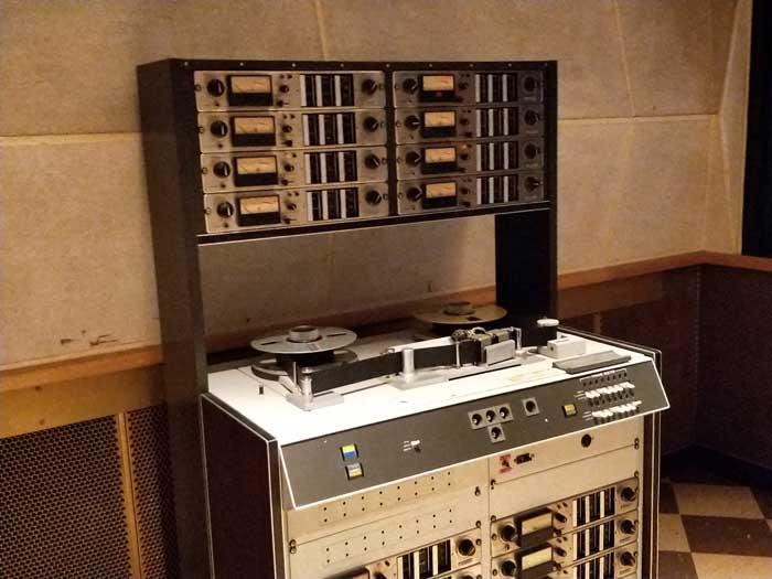 Studio B recording equipment