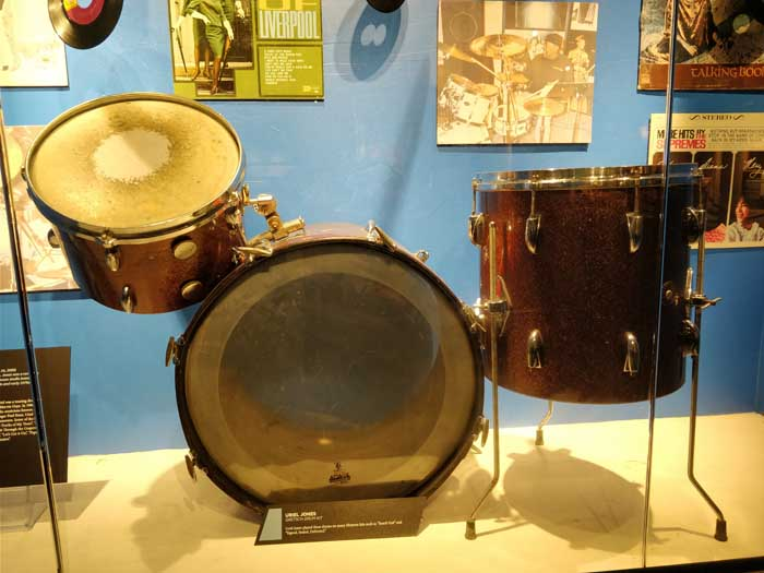 Uriel Jones drum kit - The Funk Brothers