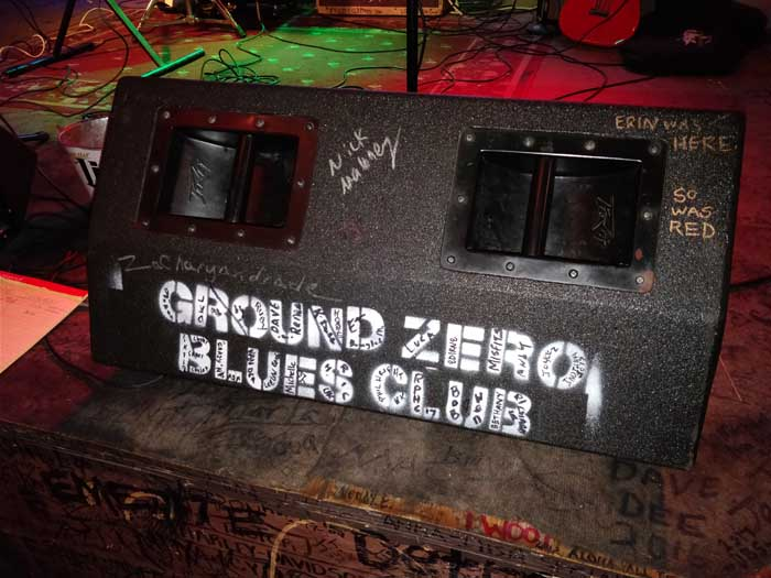 Inside Ground Zero Blues Club
