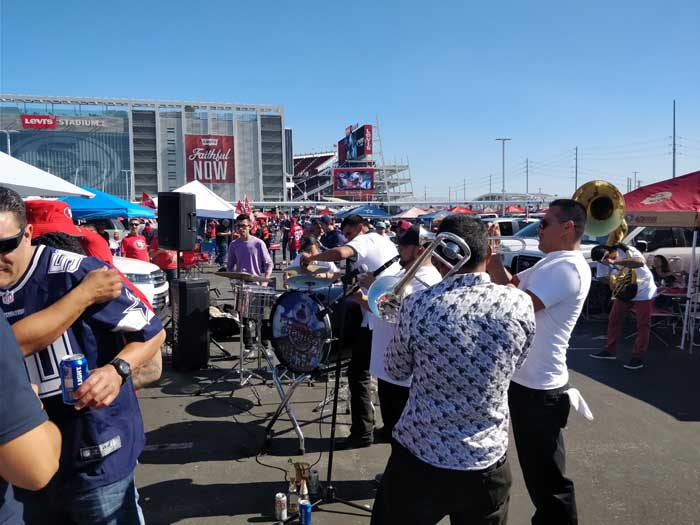 49ers tailgate 2017