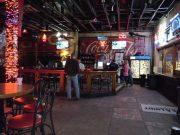 Blue Light Live bar area