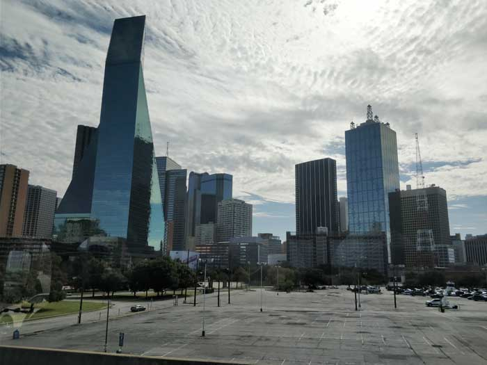 Dallas city tour views