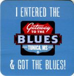 Gateway to the Blues museum sticker