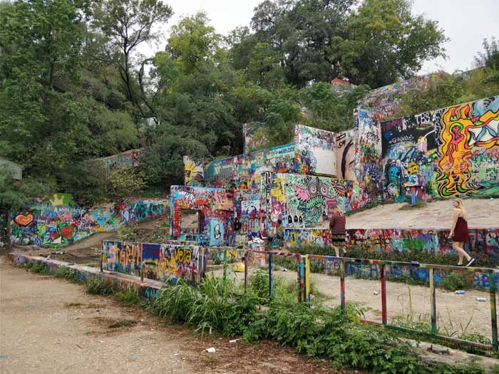 Graffiti Park at Castle Hill