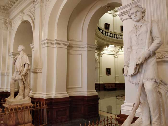 Inside Texas State Capitol