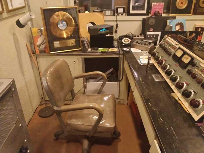 Norman Petty Recording Studios Control Room
