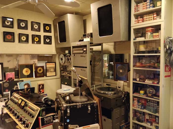 Norman Petty Recording Studios Control Room