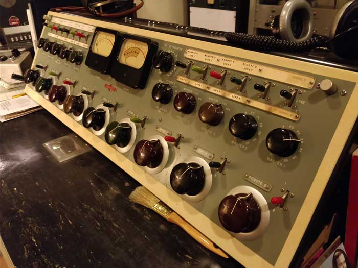 Norman Petty Recording Studios Control Room #1