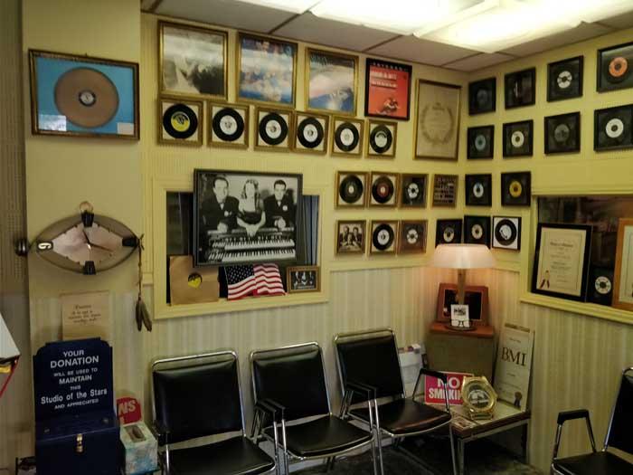 Norman Petty Recording Studios Lobby