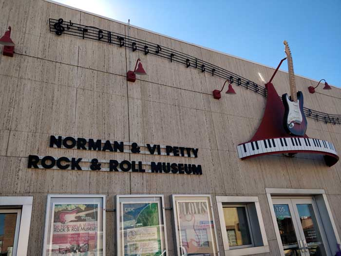 Norman & Vi Petty Rock & Roll Museum
