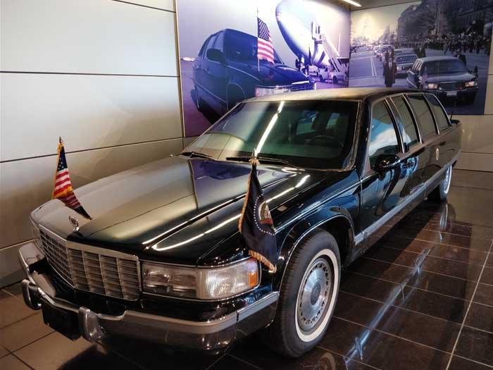 Clinton's Presidential limo