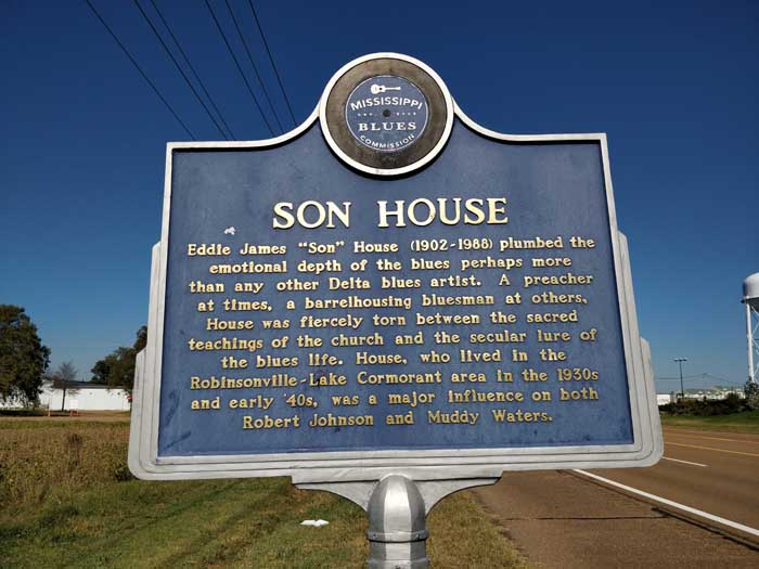 Son House Trail Marker