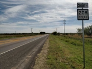 TX-208 S near Snyder, TX