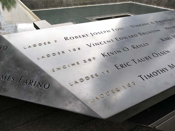 9-11 Memorial Garden #6