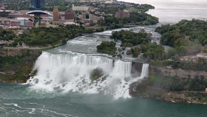 American Falls and Bridal Veil Falls #2 - Skylon Tower