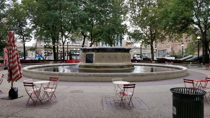 Edison Memorial Fountain