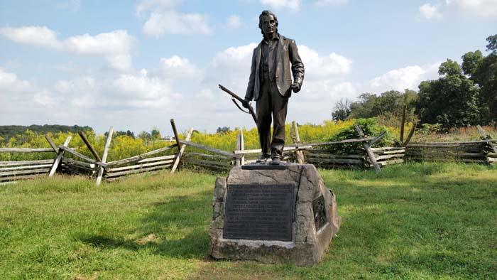 Gettysburg Battlefield Tour #1