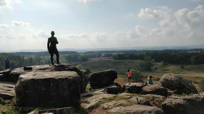 Gettysburg Battlefield Tour #12