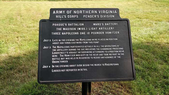 Gettysburg Battlefield Tour #7