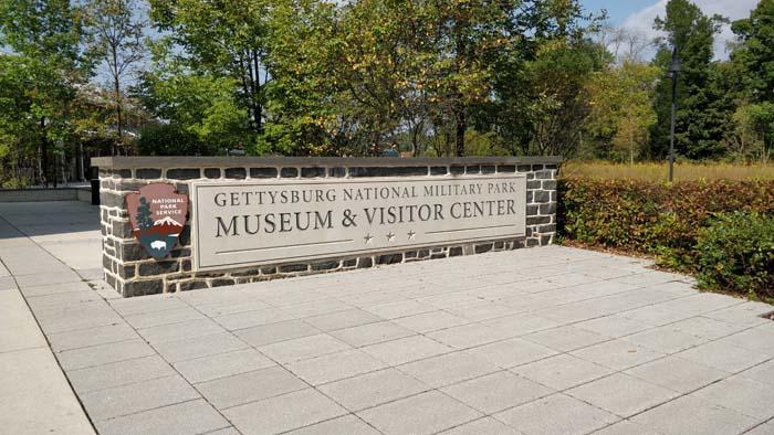 Gettysburg entrance