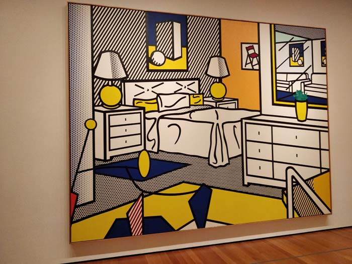 Interior With Mobile by Roy Lichtenstein
