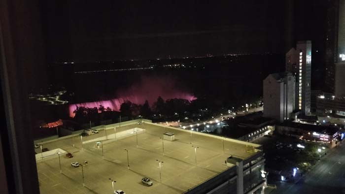 Niagara Falls at night #3