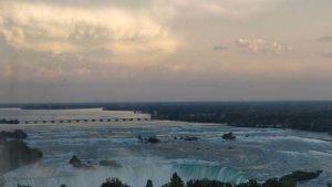 Niagara Falls - hotel room view #1