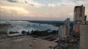 Niagara Falls - hotel room view #2