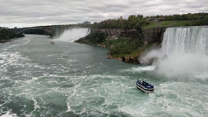 Niagara River - north view Canada