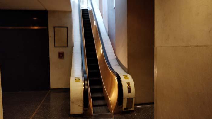 Rockefeller Center #7 - World's First Escalator