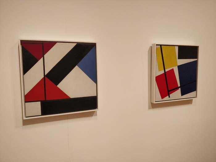 Simultaneous Counter-Composition by Theo van Doesburg