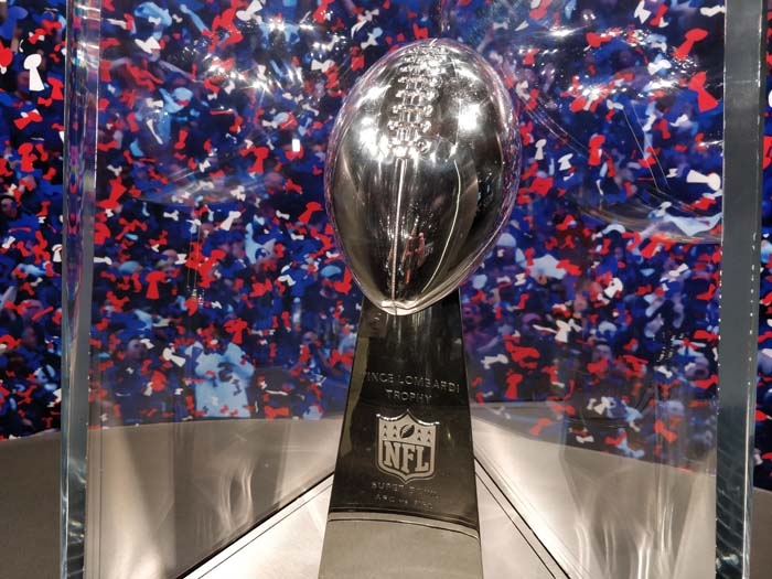 The NFL Experience #2 - Super Bowl LIII trophy